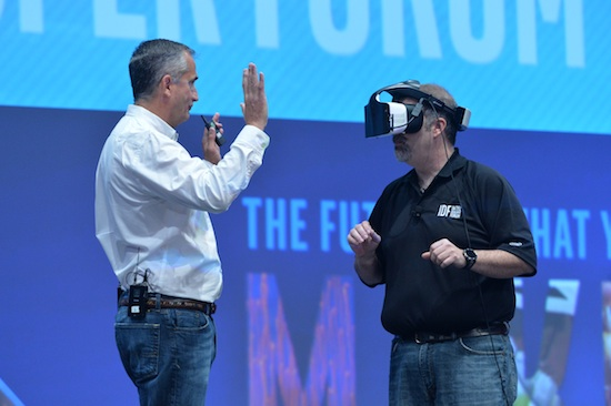 Intel, virtual reality, Internet of things