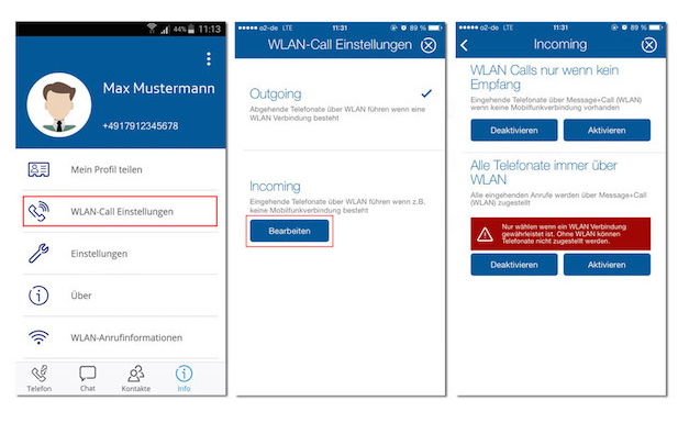 Wi-Fi calling, VoLTE, O2 Message+Call, joyn, RCS, Rich Communications Service, O2 Germany, Telefonica Deutschland, telecoms, app, wireless technology, technology news