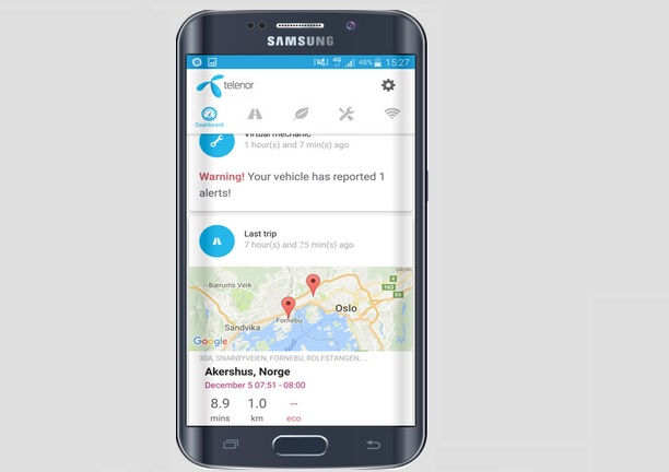 Telenor pilots connected car app in the Nordics, launches forum