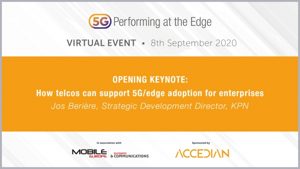 5G: Performing at the Edge 2020 Day 1 - How telcos can support 5G/edge adoption for enterprises
