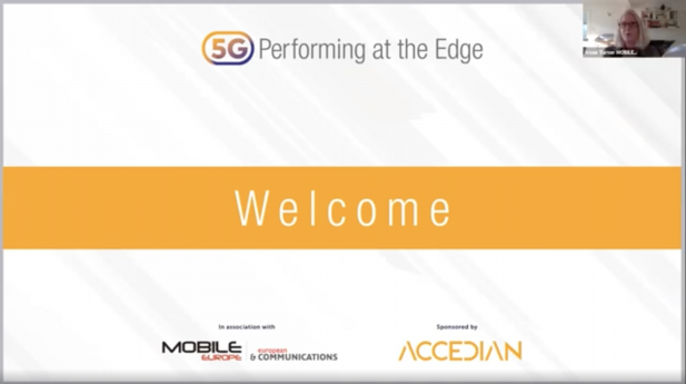 5G: Performing at the Edge 2020 Day 1: Welcome and introduction